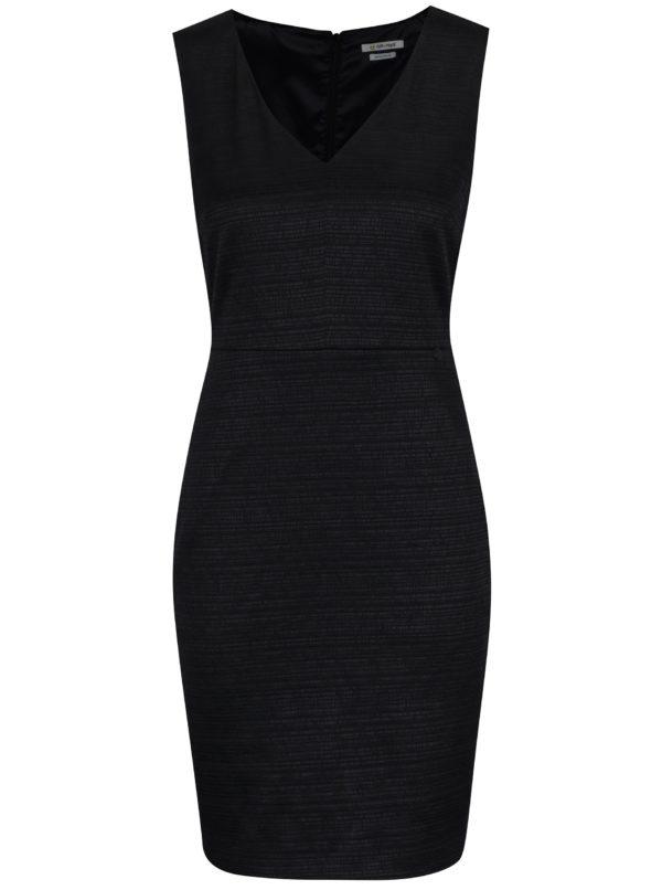 Čierne puzdrové šaty Rich & Royal
