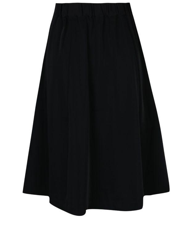 da3b52ca9c4a Čierna zavinovacia sukňa Selected Femme Kassia