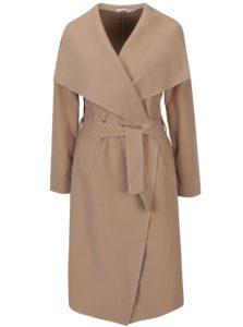 Hnedý tenký kabát s vreckami Haily's Luana