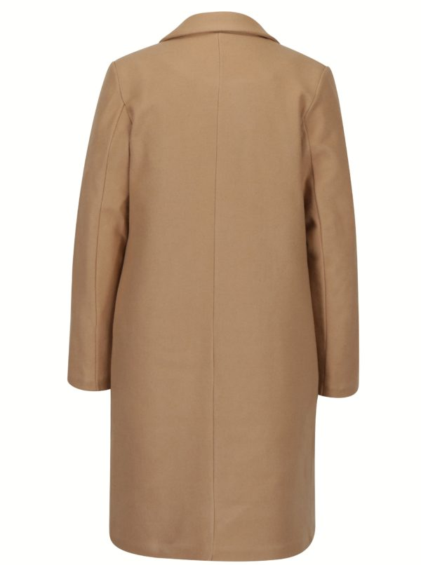 Béžový kabát s podšívkou ZOOT