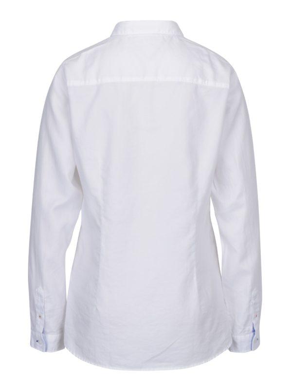 668b15b9715c Biela dámska fitted košeľa Tommy Hilfiger Jenna