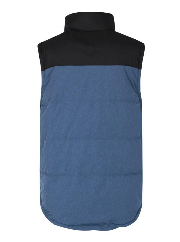 Modrá pánska nepremokavá vesta MEATFLY West 2