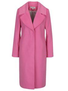 Ružový kabát s podšívkou Miss Selfridge