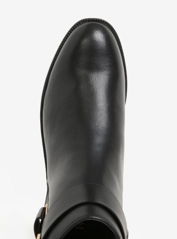 Čierne členkové topánky s prackou Miss KG Trinny