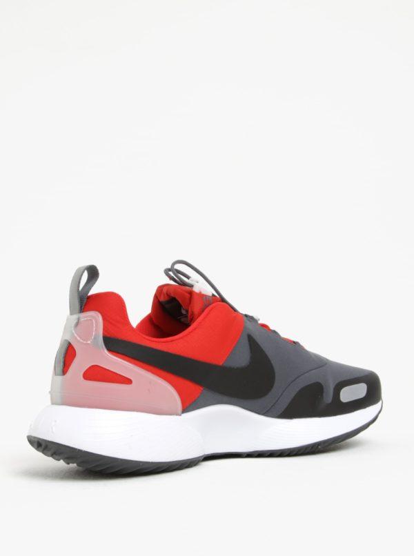 Sivo-červené pánske tenisky Nike Air Pegasus AT  98a41a5a228