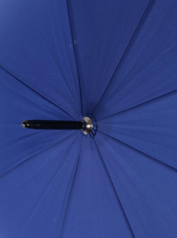 Tmavomodrý vystreľovací dáždnik Derby