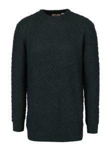 Zelený sveter s prímesou vlny JP 1880