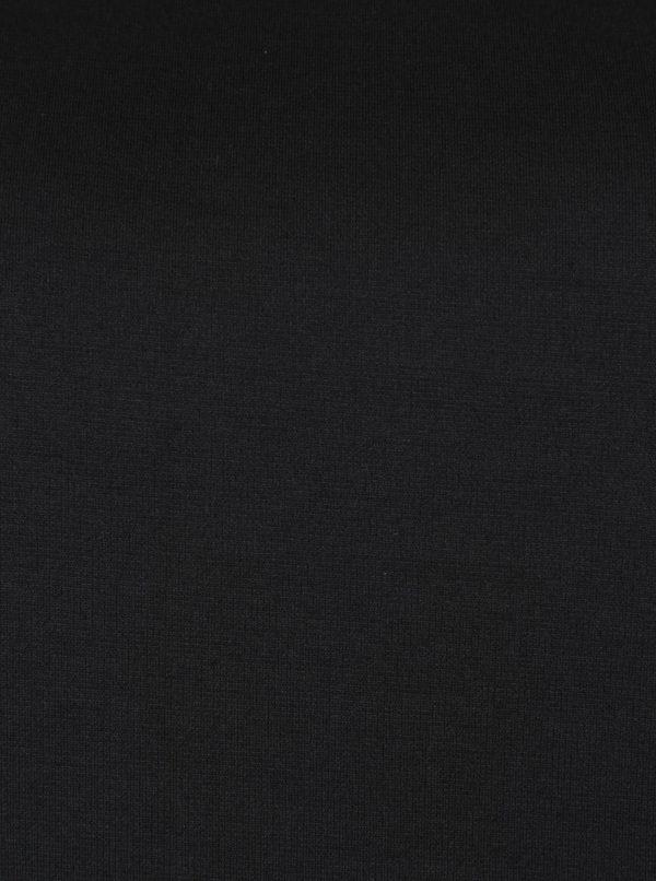 Čierna tunika s čipkou Ulla Popken