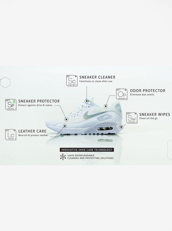 Súprava dvanástich čistiacich vreckoviek na tenisky Sneaker LAB