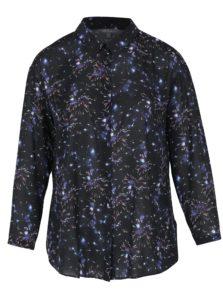 Čierna košeľa s motívom ohňostroja Ulla Popken