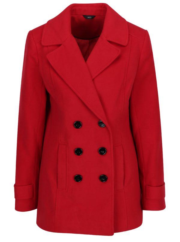 Červený krátky kabát M&Co