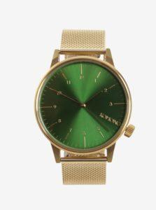 Pánske hodinky v zlatej farbe Komono Winston Royale