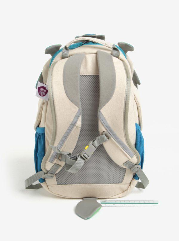 Modro–krémový batoh v tvare draka Affenzahn 8 l