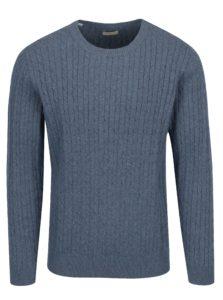 Modrý sveter Selected Homme Clayton