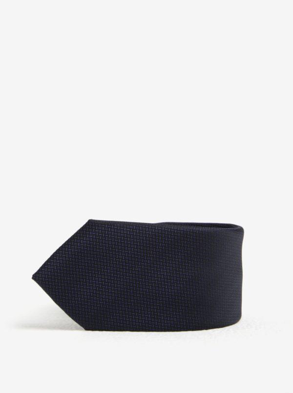 Tmavomodrá kravata Selected Homme Xavier