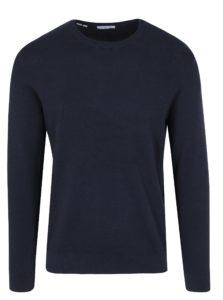 Tmavomodrý tenký sveter Selected Homme Damian