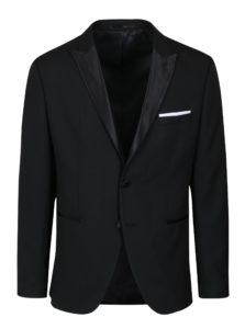 Čierne oblekové sako Selected Homme Done Tux