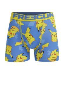 Modré pánske boxerky Pokemon Freegun