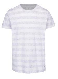 Biele pruhovaný tričko Lindbergh