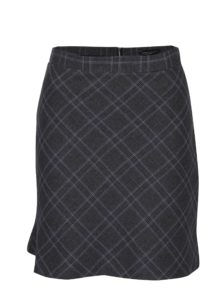 5e48b36bf030 Sivá károvaná sukňa Dorothy Perkins
