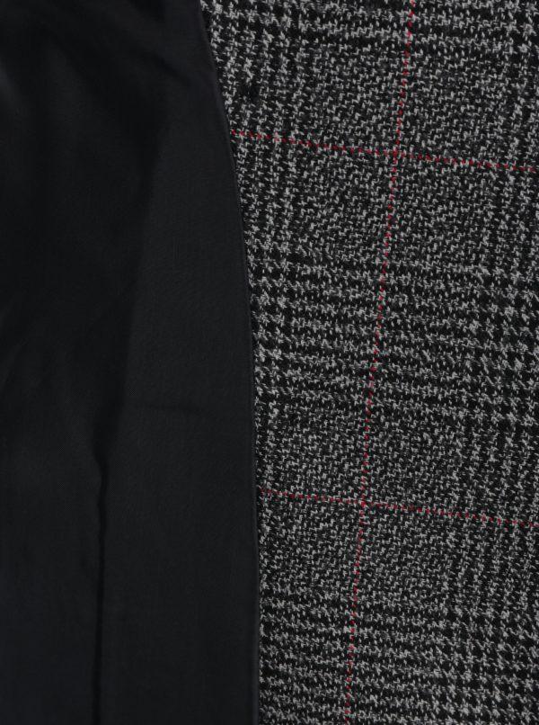 Čierno–biele kockované sako Miss Selfridge