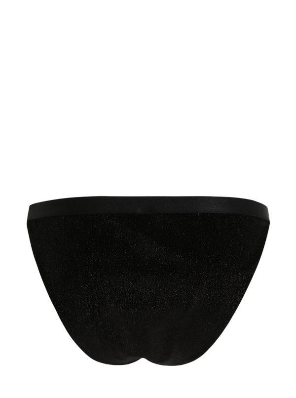Čierne trblietavé nohavičky Y.A.S Parkle