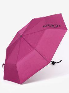 Vínový skladací dáždnik s.Oliver