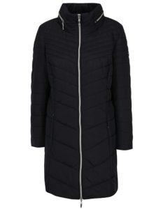Čierny prešívaný kabát Gina Laura