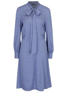 Svetlofialové šaty s dlhým rukávom Bohemian Tailors Bera