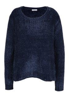 Tmavomodrý sveter Jacqueline de Yong Mine