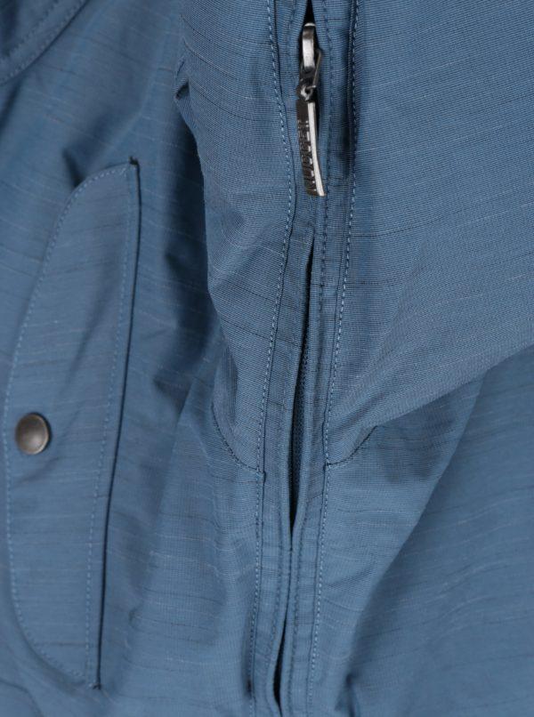 Modrá dámska nepremokavá zimná bunda NUGGET Anja
