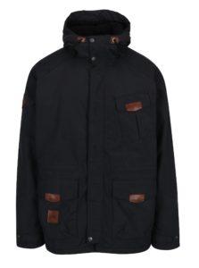 Čierna pánska nepremokavá zimná bunda NUGGET Arsenal