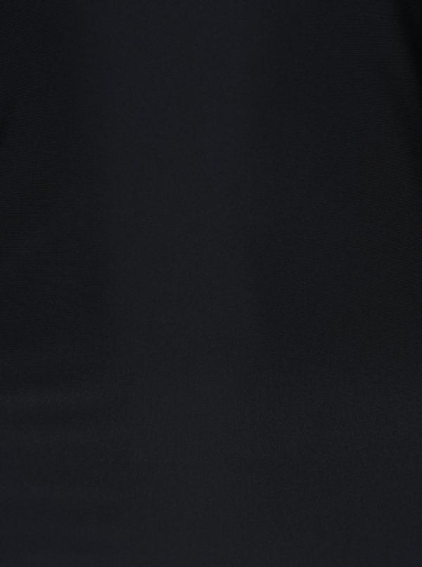 Čierne body s dlhým rukávom Alexandra Ghiorghie Rina