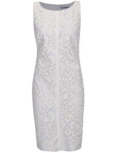 Krémové koženkové šaty Alexandra Ghiorghia Ara