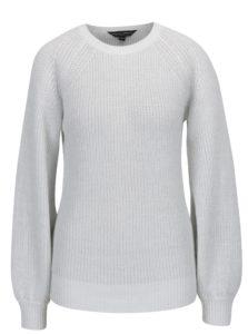 Krémový trblietavý zimný sveter Dorothy Perkins