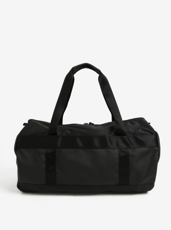 Čierna cestovná taška Acme Made Union Street Tube Duffel 25 l