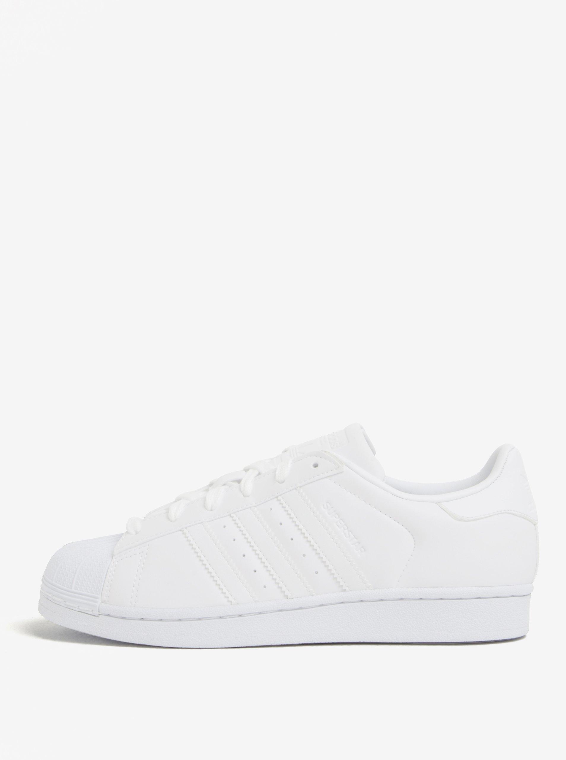 Biele dámske tenisky adidas Originals Superstar  e0772dd27da