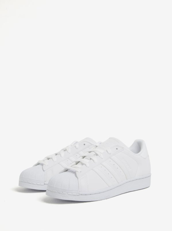 Biele dámske tenisky adidas Originals Superstar