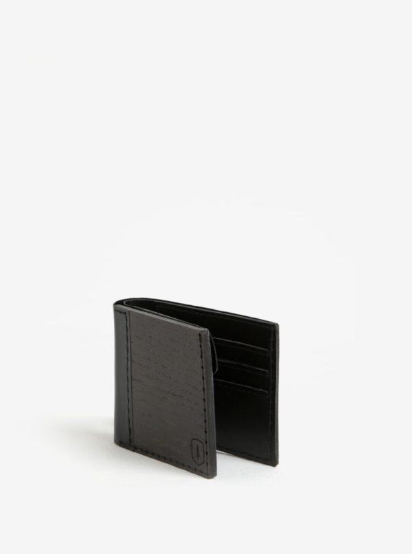 Čierna drevená peňaženka BeWooden Nox Tenebra