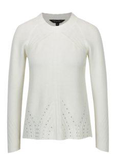 Krémový sveter s trblietavou aplikáciou Dorothy Perkins