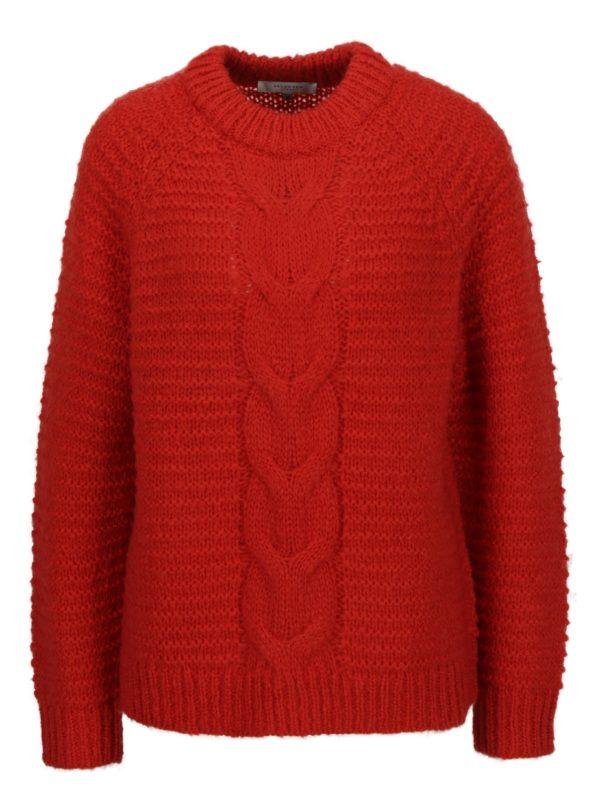 Červený sveter Selected Femme Ayda