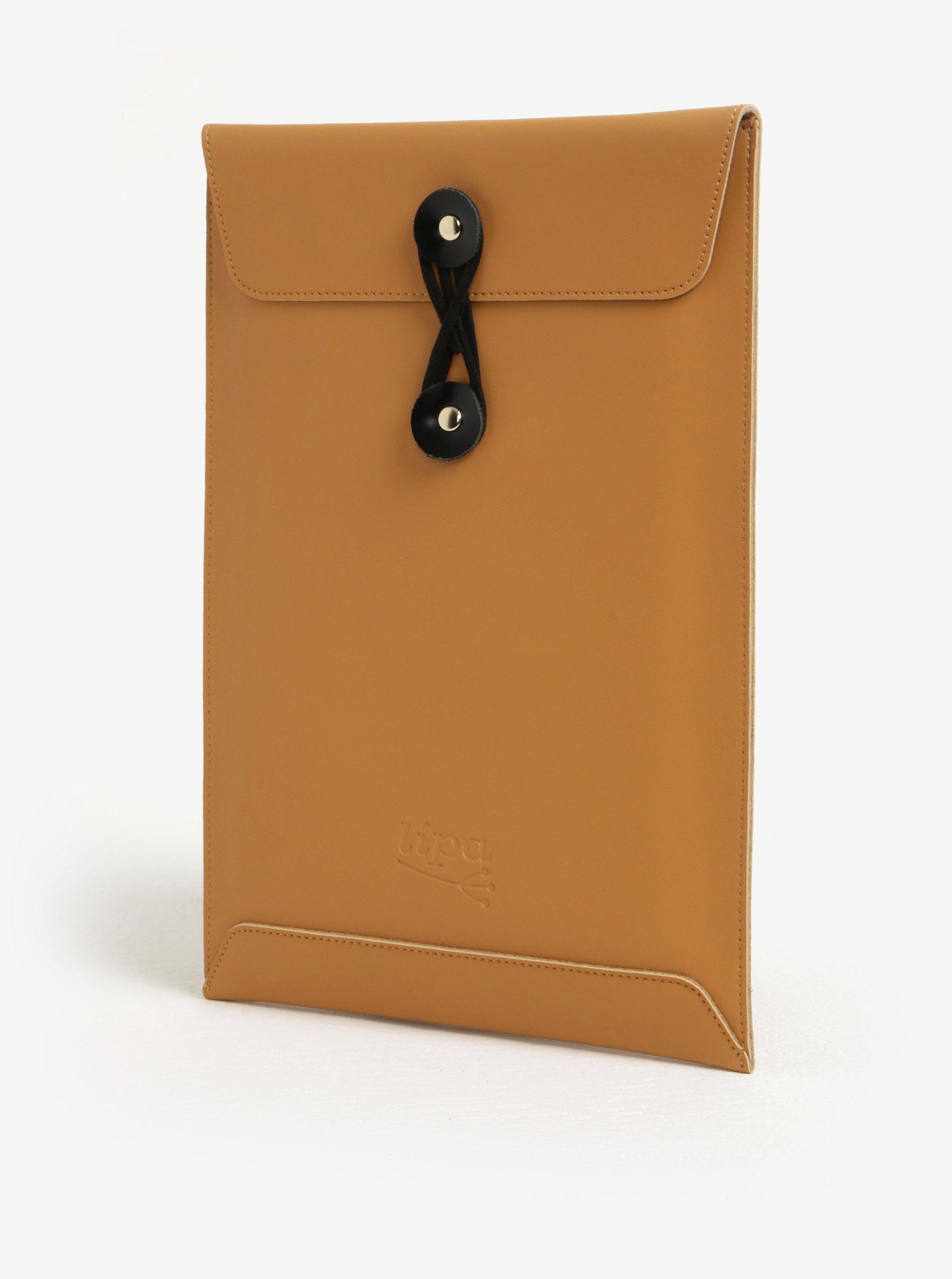 d6cdedc98 Čierno-hnedý kožený obal na notebook Lípa 13″ | Moda.sk