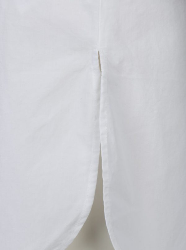 Biela dlhá košeľa VERO MODA Juljane