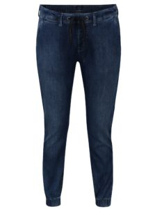 Modré dámske rifľové jogger nohavice Pepe Jeans Cosie