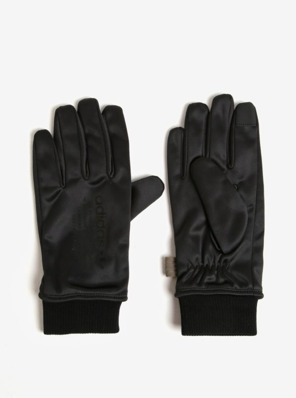 Čierne pánske rukavice adidas Originals