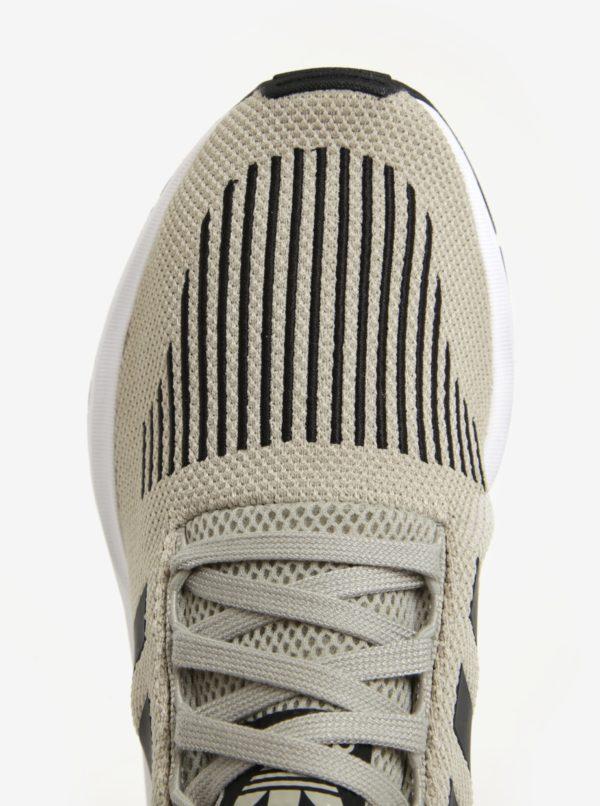 Svetlosivé pánske tenisky adidas Originals Swift Run