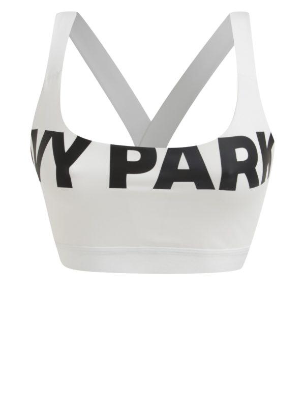 Biela športová podprsenka s potlačou Ivy Park