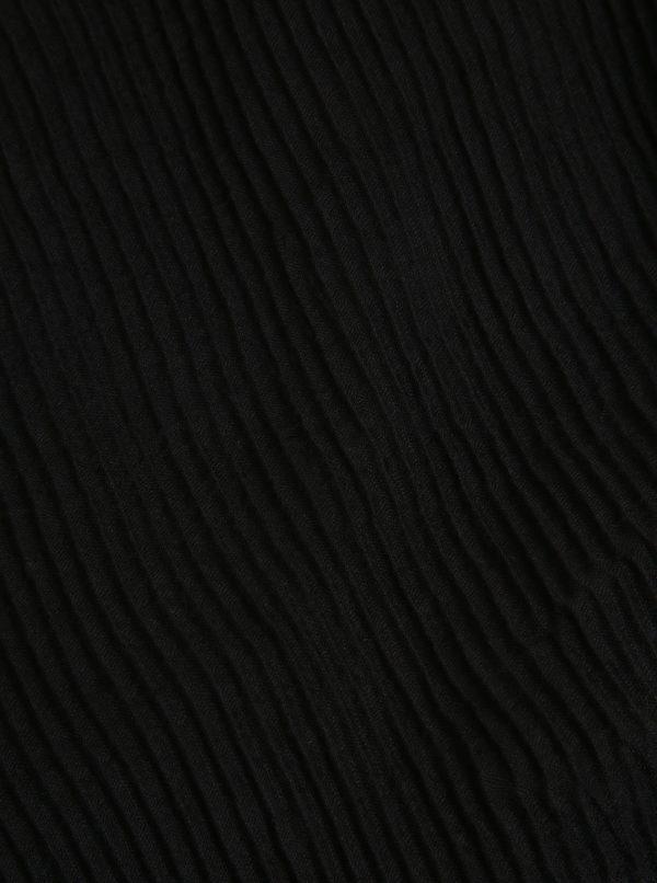 Čierna rebrovaná šatka ZOOT
