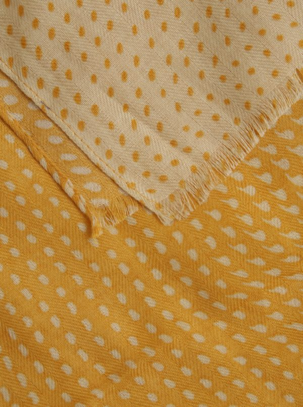Žltá vzorovaná šatka ZOOT
