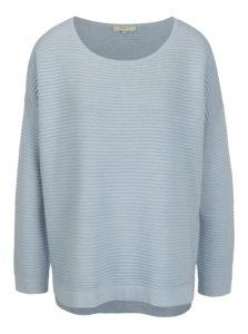 Svetlomodrý rebrovaný sveter Selected Femme Laua